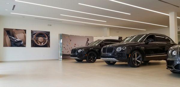 Hi-Tech Luxury Imports Bentley Renovation