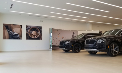 Hi-Tech Luxury Imports Bentley Renovation